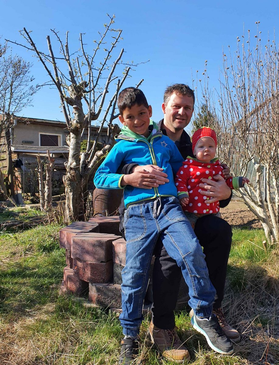 Wir haben einen Kinder-Garten, Foto: Maike Steuer