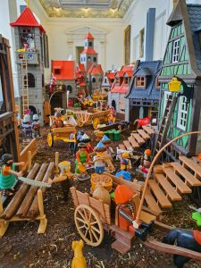 Dorfleben-Diorama, Foto: Maike Steuer