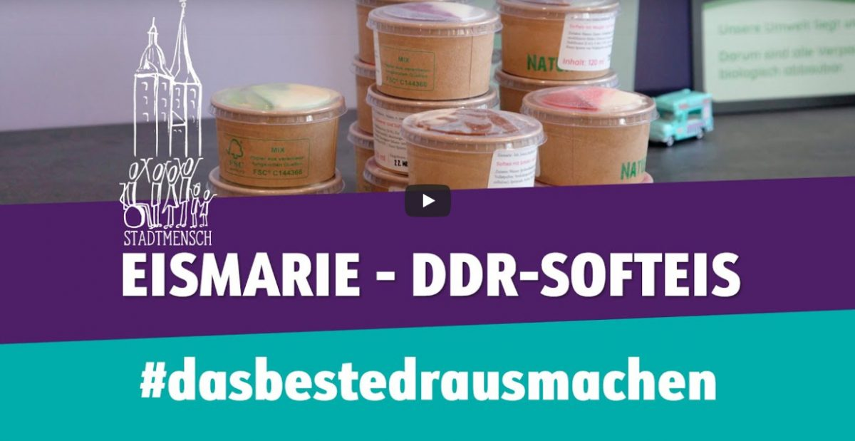 Eismarie auf Youtube, Screenshot: Stadtmenschen Altenburg