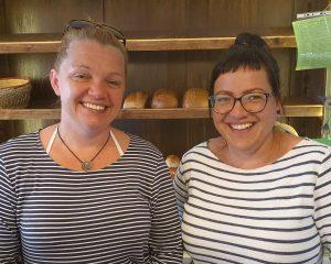 Sandra Hennig und Katrin Klesse, Foto: Maike Steuer
