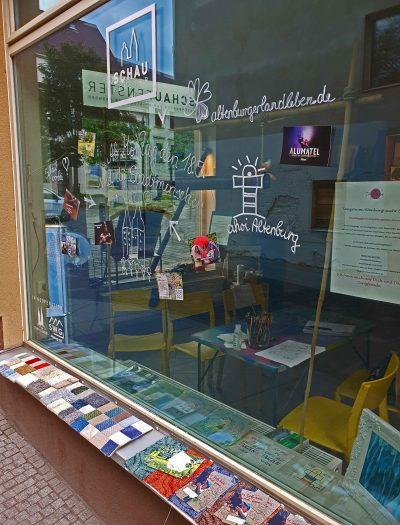 Das Schaufenster vom SchauFenster, Foto: Maike Steuer