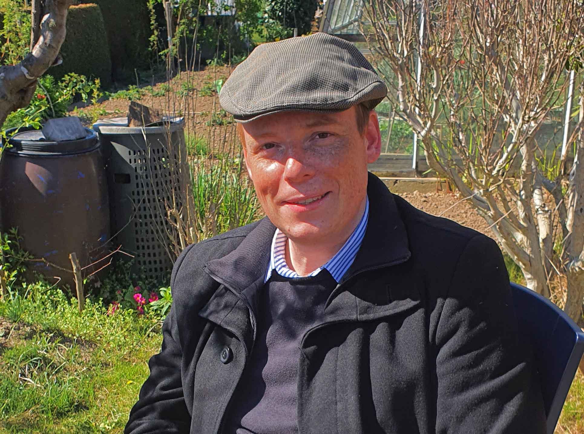 Porträt von Moritz Allersmeier, Foto: Maike Steuer