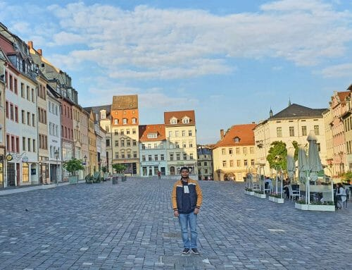 Ein glücklicher Zufall: Zu Hause in Altenburg