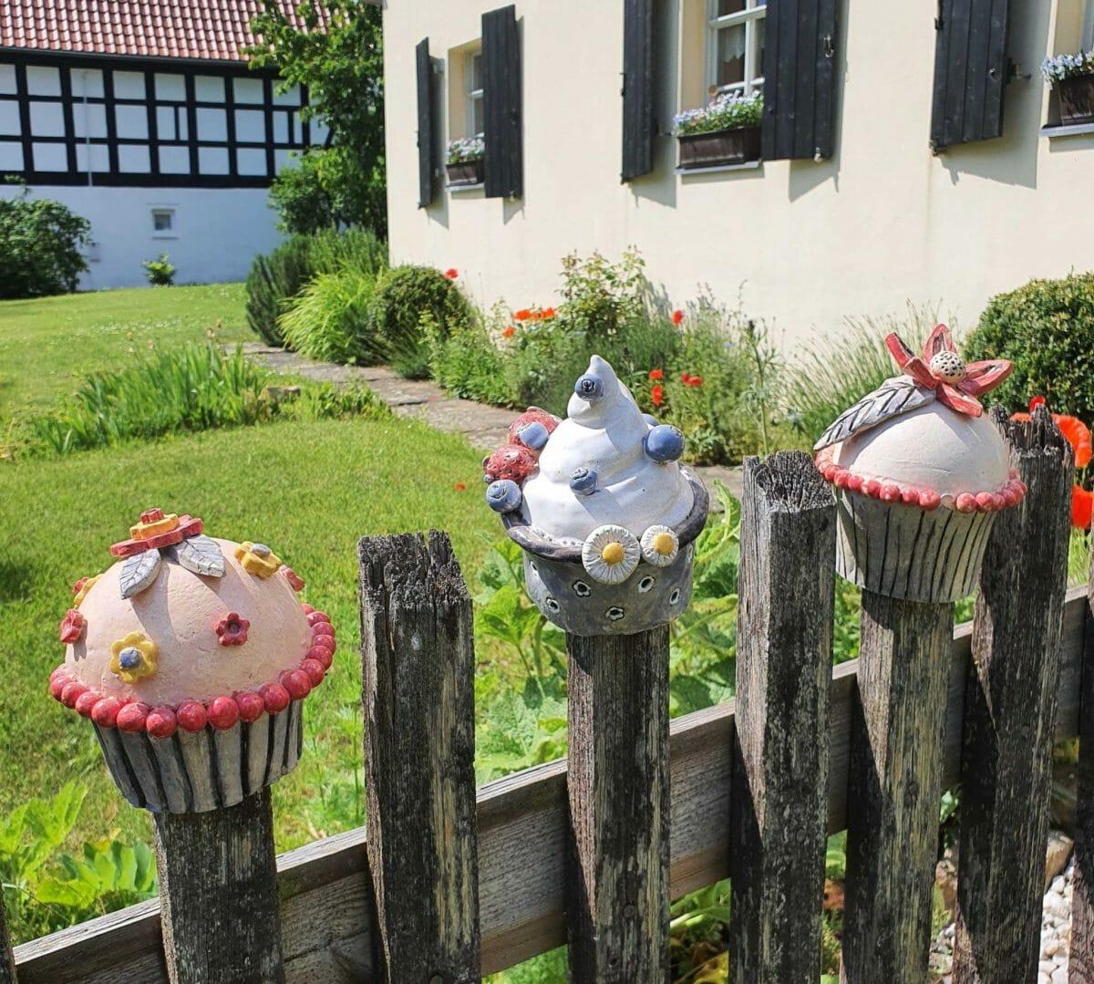 Cupcakes - getöpfert und nicht gebacken, Foto: Maike Steuer