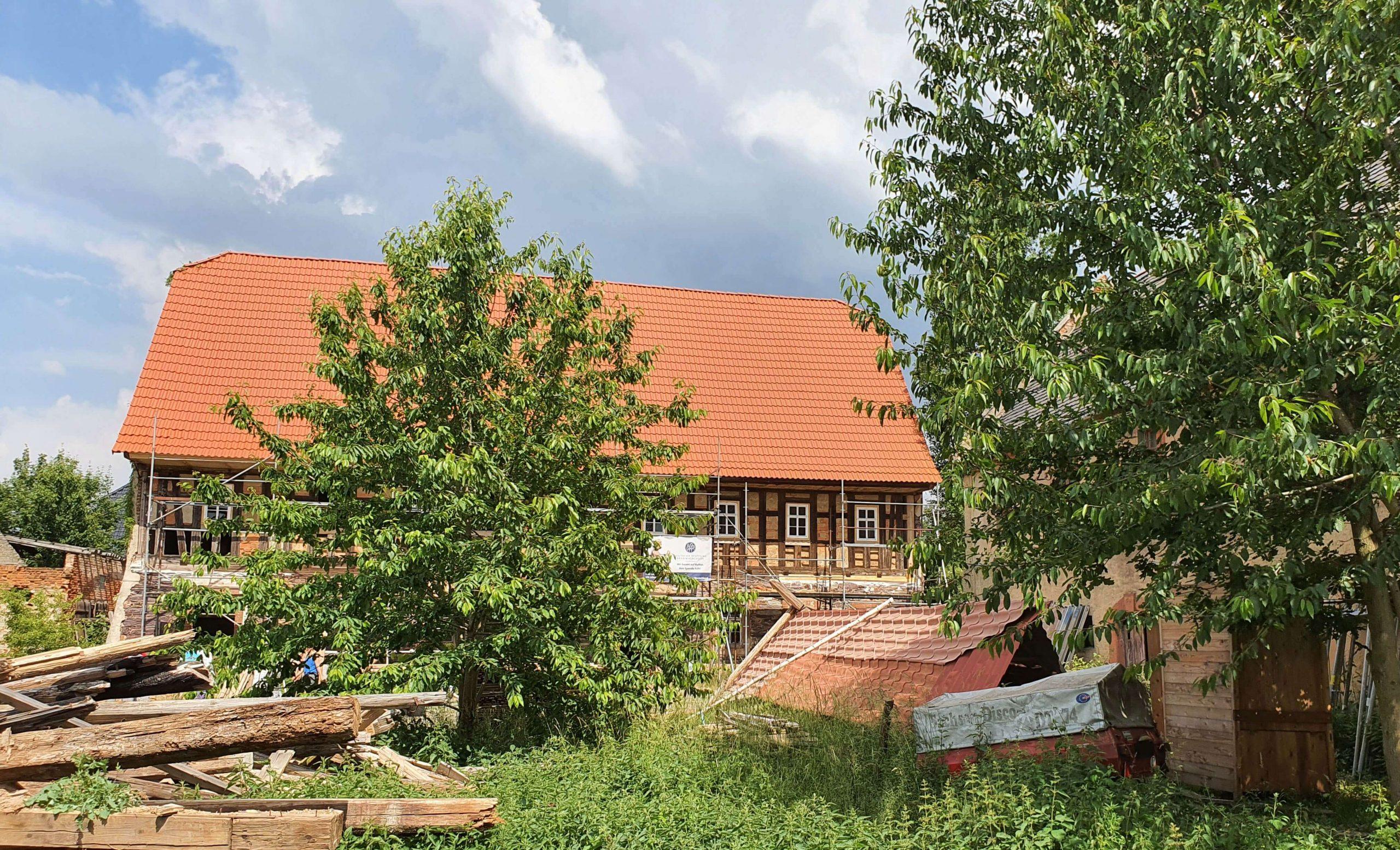 Innenhof des Kulturhofs, Foto: Maike Steuer