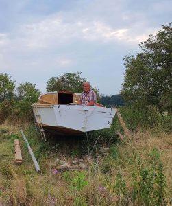 Auch im Boot hört sich's gut zu. Foto: Maike Steuer