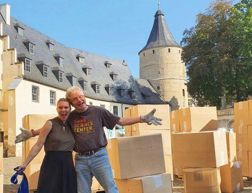 18 000 Spiele residieren künftig im Schlosskeller