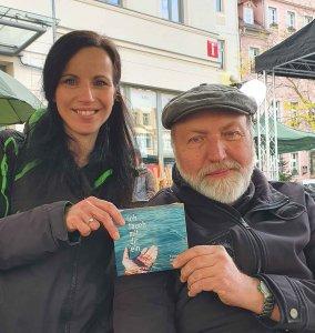Franziska und Reinhard Haucke, Musiker, Foto: Maike Steuer
