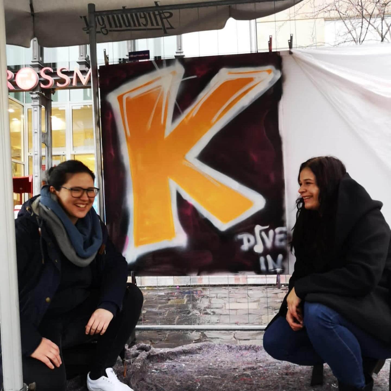 Sanni und Maria und ihr K, Foto: Susann Seifert