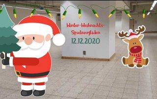 Der Winter-Weihnachts-Spielzeugladen, Grafik: Maike Steuer