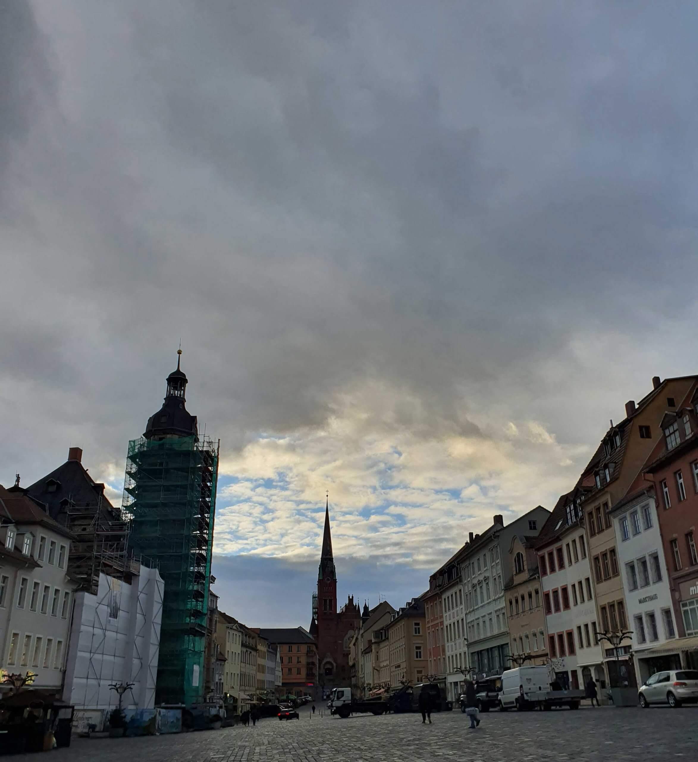 Wolkenschauspiel, Foto: Maike Steuer