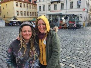 Live und in Farbe Macherinnen Susann und Maike, Foto: Privat
