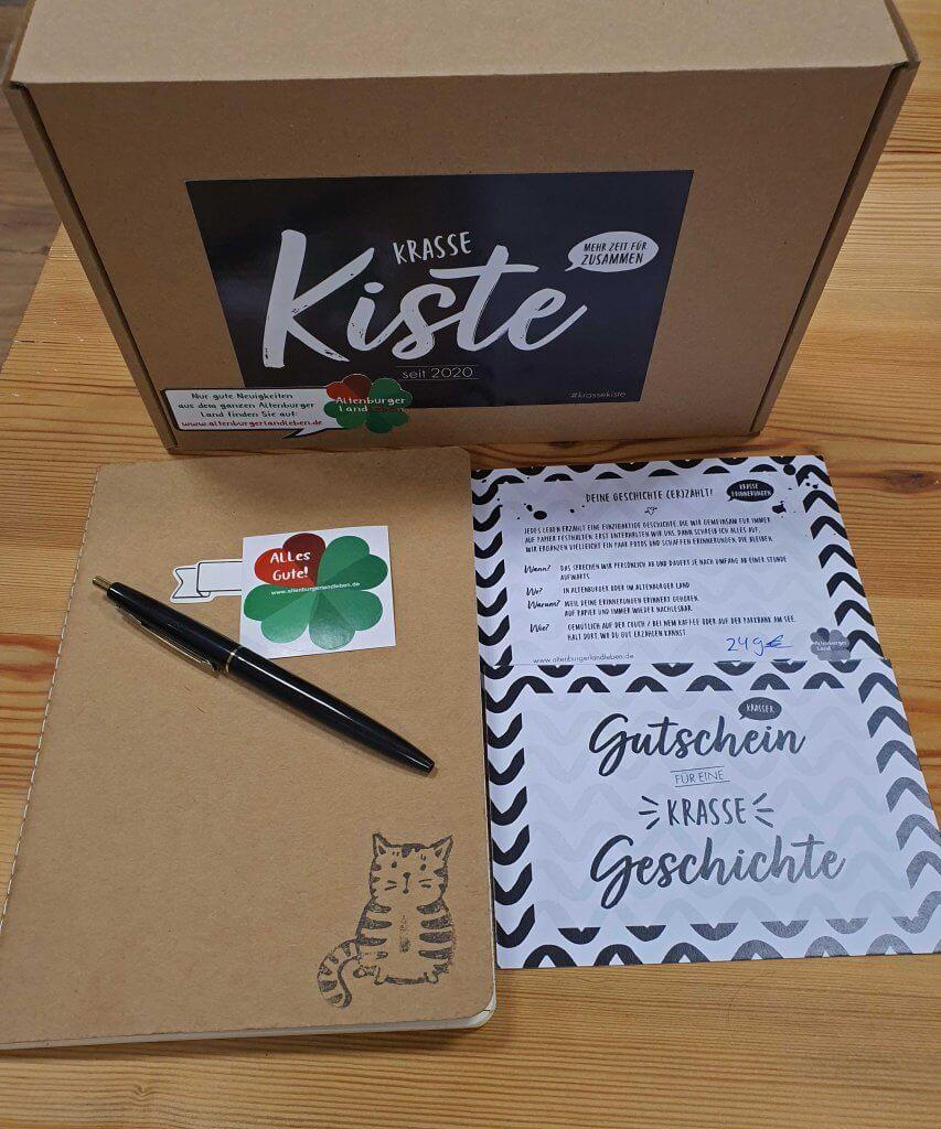 Krasse Kiste für eine Krasse Geschichte, Foto: Maike Steuer