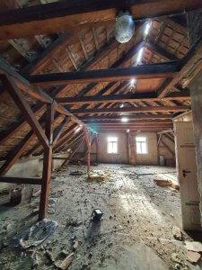 Platz für Gäste unterm Dach, Foto: Maike Steuer