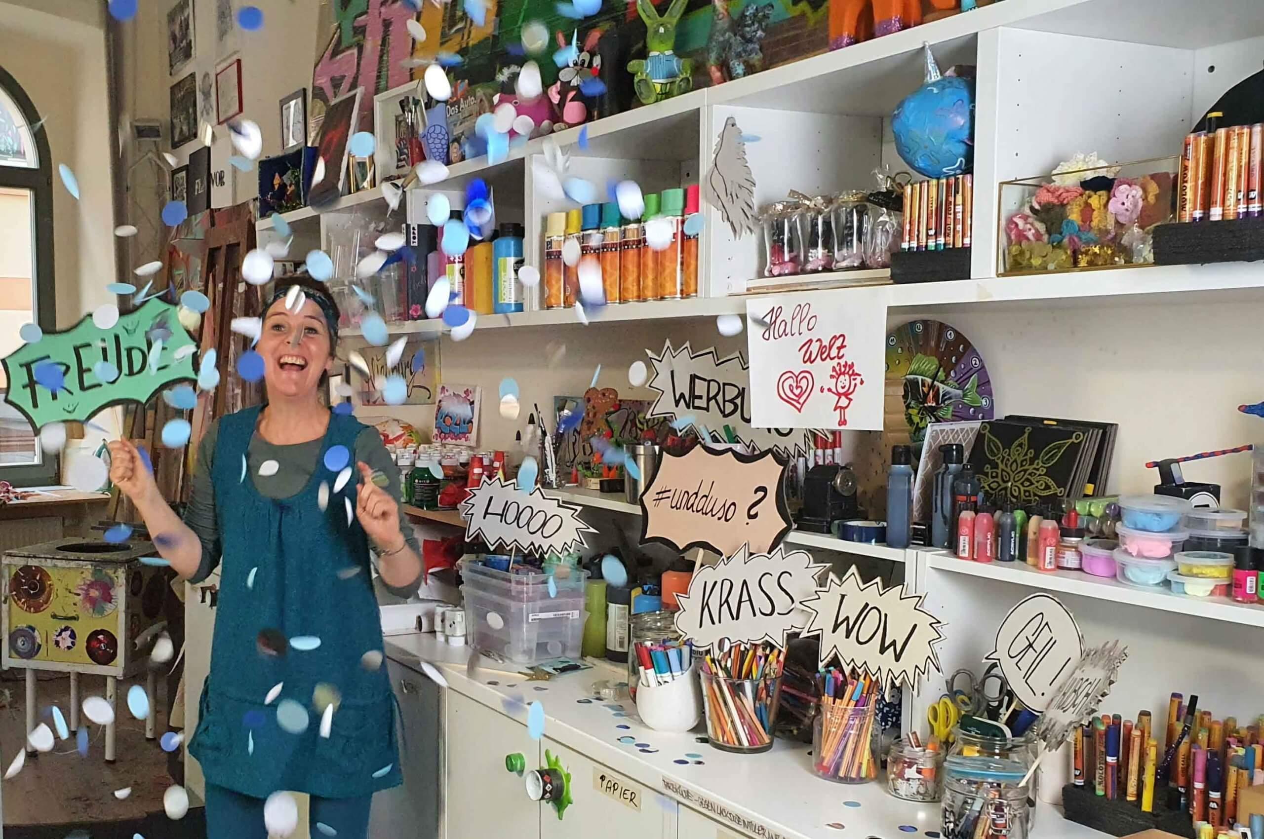 Yvonne Ammer freut sich riesig, Foto: Maike Steuer