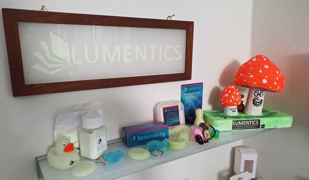 Lumentics Produkte sind vielfältig. Foto: M. Steuer